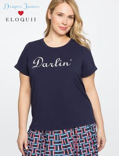 2108316c31b Draper James for ELOQUII Darlin  Tee