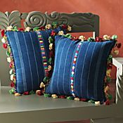 Pillow is hand-woven, from repurposed Guatemala. Diy Pillows, Handmade Pillows, Decorative Pillows, Throw Pillows, Cushion Cover Designs, Cushion Covers, Guatemalan Textiles, Pillow Inspiration, Diy Crafts To Do