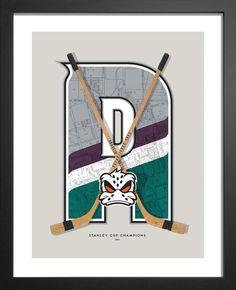 Nhl Hockey Teams, Duck Art, Man Cave Wall Art, Goalie Mask, Map Background, 90s Era, Boat Art, Anaheim Ducks, Kid Movies