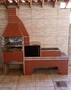 churrasqueira , forno e fogão a lenha