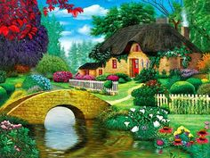 dream cottage (165 pieces)