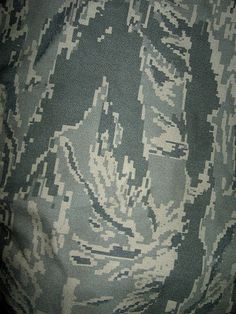 ABU Airman Battle Uniform Camo. US, 2011. ABU was unveiled in the summer of 2003, based on the Vietnam-era Tigerstripe pattern.