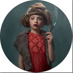 portraits of smoking children by talented Belgian photographer Frieke Janssens. Anti Smoking, Smoking Kills, Kids Series, Glamour Shots, Kids Lighting, Portraits, Photo Series, Pretty, Blog