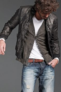 Denim and Leather and…………
