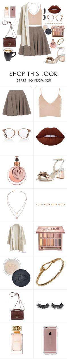 """✨"" by dandelion71 ❤ liked on Polyvore featuring McQ by Alexander McQueen, Oliver Peoples, Lime Crime, Valentino, Sophia Webster, Michael Kors, Pearls Before Swine, Urban Decay, Kat Von D and Gucci"
