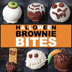 Halloween 'Box' Brownie Bites by Tasty
