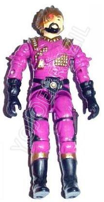 Descrição:  O Mestre Rapina (Voltar) foi lançado no Brasil em 1993 (Série 10) pela companhia de Brinquedos Estrela, a figura corresponde ao modelo swivel arm (com movimento nos cotovelos). Trata-se da versão nacional do Destro's General [Voltar] fabricado em 1988 pela Hasbro pela série G.I. JOE.