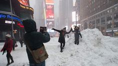 Winter Storm Jonas rocked the northeast over the weekend and the world took to social media to report. Here's a recap of the snow-covered weekend.