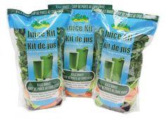 Superfood Juice Kits : fresh vegetable juice