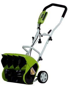 """GreenWorks 26022 10 Amp 16"""" Corded Snow Shovel Greenworks,http://www.amazon.com/dp/B0030BG1KE/ref=cm_sw_r_pi_dp_UnHbtb097RKY5KFJ"""