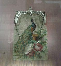 Victorian beaded purse