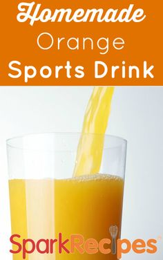 Forget those sugar-laden sports drinks! Dietitian Becky's orange flavored sports drink recipe is out of this world and so much better for you. Give the recipe as gifts to all of your workout friends!