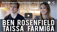#BenRosenfield and #TaissaFarmiga on #Acting and #6YEARS #Movie - Now on #iTunes, #Amazon and #VOD!  #film #hannahfidell #duplassbrothers #jayduplass #markduplass #orchard #movies2015 #twentysomething #geny #millennials #relationships #indiefilm #independentfilmmaking #actingtips #improv #americanhorrorstory #thefinalgirls #newjersey
