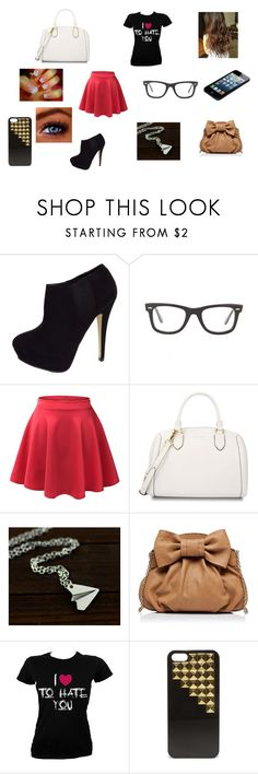 """""""Untitled #86"""" by madisonnetz ❤ liked on Polyvore featuring CO, Ray-Ban, LE3NO, CHARLES & KEITH, Forever New and Steve Madden"""