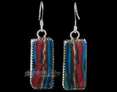 Mission Del Rey Southwest - Native American Sterling Silver Earrings -Zuni (ij380), $79.99 (http://www.missiondelrey.com/native-american-sterling-silver-earrings-zuni-ij380/)