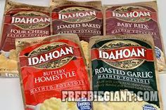$1 Off Idahoan Flavored Mashed Potatoes-Printable Coupon - http://freebiegiant.com/1-off-idahoan-flavored-mashed-potatoes-printable-coupon/ Coupons.com has a coupon available for $1 off any (3) Idahoan Flavored Mashed Potatoes.  If you would like to get this coupon, simply click here and print the coupon straight from your computer. You can only print this coupon once and you cannot combine this coupon with any other offers.