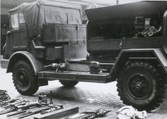 Compressorauto< DAF, 3 ton, 4x4.