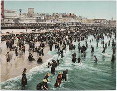 Atlantic City beach 1902