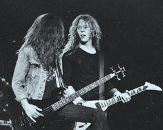 James Hetfield & Cliff Burton