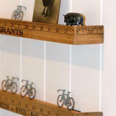 Vintage American Yardstick Shelf | Dee Puddy