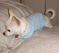 Knifty Knitter Small Dog Sweater Instructions.