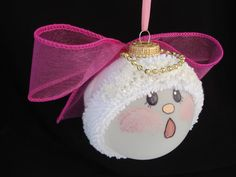 Hand Painted Angel Ornament - Personalized $16.95