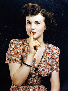 """""""Keep it secret"""" ...1940s."""