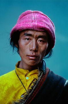 Tibetan Man, by Steve McCurry.