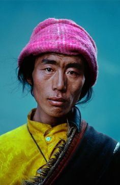 Tibet | Steve McCurry/ printer ink v on primaries