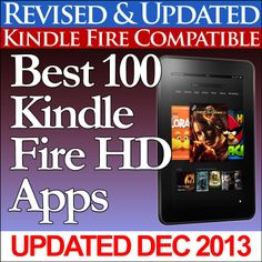 Best 100 Kindle Fire HD Apps  by Charles Tulley ($1.20) http://www.amazon.com/exec/obidos/ASIN/B009CHBNVW/hpb2-20/ASIN/B009CHBNVW This book saved a lot of time searching for apps that are ones I am interested in. - As a new Kindle Fire HD user, I found this book very helpful. - Seems like a major omission.