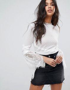 c9b7bb6f3a0690 ASOS   Tienda de Ropa Online   Últimas tendencias en moda. Cut Off Shirt Ladies ...