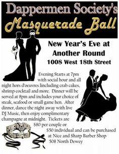 New Year's Eve Masqu