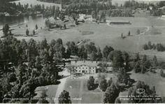Värmland Årjängs kommun Järvägsmännens semesterhem Töcksfors 1940-talet utg A/B Flygtrafik, Dals Långed
