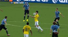 Pin for Later: The 13 Craziest World Cup Moments, in GIFs This Incredible Goal by Colombia's James Rodriguez Source: ABC Lionel Messi, Messi Gif, Soccer Gifs, Soccer Quotes, Good Soccer Players, Football Players, James Rodriguez Goal, Soccer Pictures, Soccer Skills