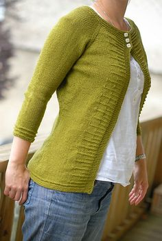 Knitted #cardi via #Ravelry