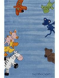 Tapis enfants Happy Friends