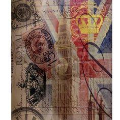 vintage British Flag London UK fashion Mousepad on CafePress.com