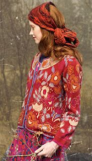 Gudrun Sjoden ~ Scandinavian designer of truly amazing clothes (up to XL sizing) plus home textiles.   Website: www.gudrunsjoden.com