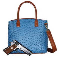Concealed Carry Purse - Concealment Ostrich Town Tote - Left and Righthand Draw - CCW - by Gun Tote'n Mamas (Blue) Gun Tote'n Mamas http://www.amazon.com/dp/B015AK84R0/ref=cm_sw_r_pi_dp_7Grcxb1KGKJ0S