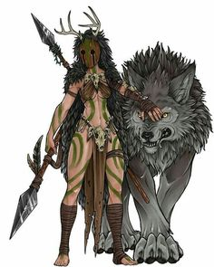 Don't mess with me at Barbarian the Druid Mythical Creatures- Leg dich nicht mit. - Don't mess with me at Barbarian the Druid Mythical Creatures- Leg dich nicht mit mir an Barbar d - Dungeons And Dragons Characters, Dnd Characters, Fantasy Characters, Female Characters, Fantasy Warrior, Fantasy Rpg, Fantasy Artwork, Anime Warrior, Fantasy Character Design