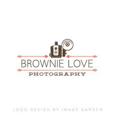 Vintage Brownie Love Logo