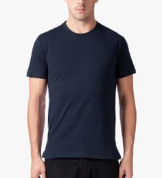 Still Good Navy Dots Jazz Back Panel T-Shirt Model Picture