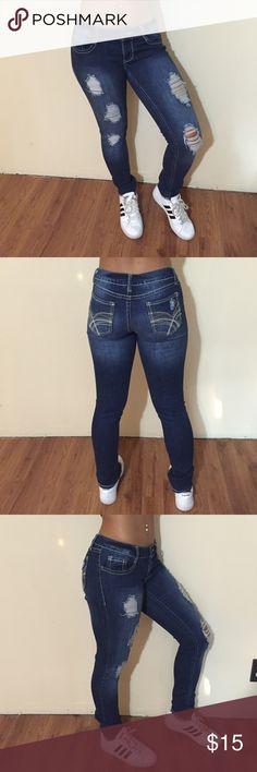 Denim jeans Rarely worn, in good condition Mudd Jeans Straight Leg