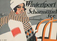 Hans Rudi Erdt, Wintersport Scharmützelsee, 1911
