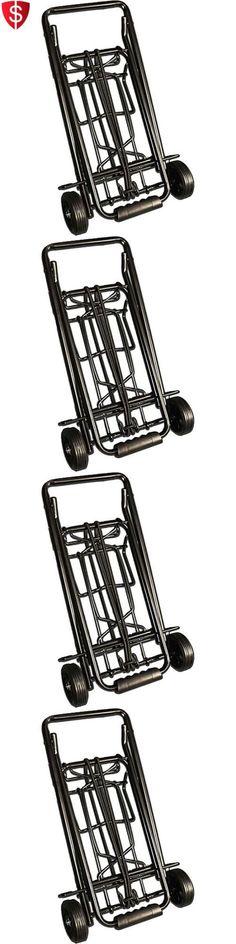 Luggage Carts 164797: Folding Trolley Cart Luggage Push Foldable Hand  Moving Portable Travel Rolling