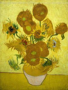 1889 Vincent van Gogh, Sunflowers