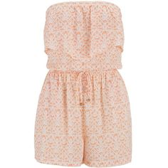maurices Patterned Ruffle Front Romper ($13) ❤ liked on Polyvore featuring jumpsuits, rompers, dresses, playsuits, jumpsuit, shirts, mango combo, pink romper, playsuit jumpsuit and pink rompers
