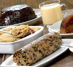 Three Ways House Hotel - The Pudding Club. Mine's a spotted dick please, with custard, and a spot of treacle sponge, followed by chocolate pud, etc. until very full!