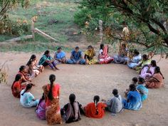 We are a Circle a Sister Circle With no beginning And never ending. (Wild Woman Sisterhood)