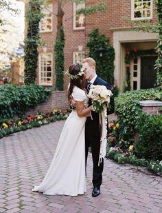 Photography: Leo Patrone - www.leopatronephotography.blogspot.com  Read More: http://www.stylemepretty.com/2014/01/22/romantic-backyard-wedding-in-salt-lake-city/